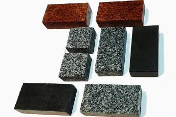 Гранітна бруківка різана (Тротуарна гранітна плитка)